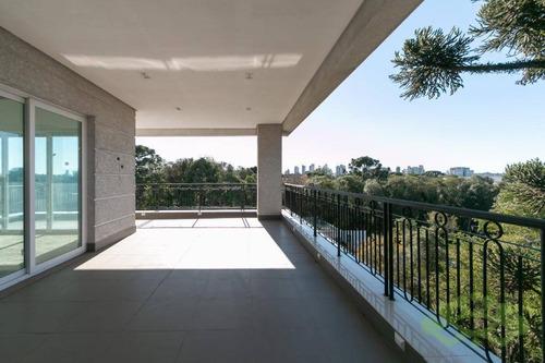 Apartamento Com 4 Dormitórios À Venda, 582 M² Por R$ 8.399.000,00 - Campo Comprido - Curitiba/pr - Ap0225