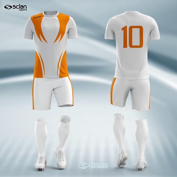 Fardamento Personalizado Time De Futebol Dry Fit - Cod. 004
