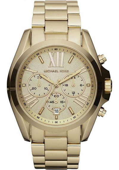 Relógio Michael Kors Mk5605/4dn Bradshaw