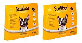 Kit 2 Coleiras Antipulgas Scalibor Cães Pequenos 48cm