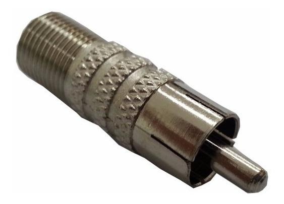Kit Brk F 022 - Conector F Femea X Rca Macho - 8 Und