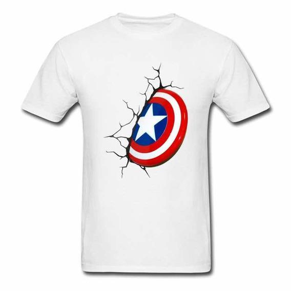 Camiseta Blusa Capitão America