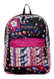 Mochila Jansport High Stakes Buttercup Blast Escolar Trs732q