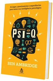 Psi-q Livro Ben Ambridge Frete 10 Reais