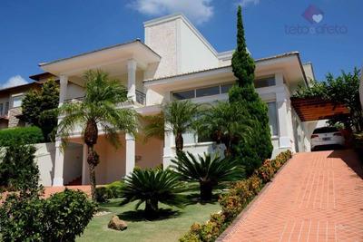 Imobiliária Em Atibaia - Sobrado De Alto Padrão Em Condomínio Fechado De Luxo Em Atibaia. - Codigo: So0258 - So0258