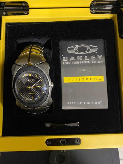 Relógio Oakley Timebomb 2 Livestrong Original