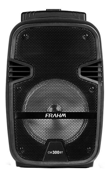 Caixa Som Amplificada Frahm Cm 300 Bt Usb Fm 300w Portátil