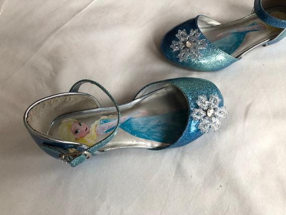 Frozen Zapatos Para Niña 12 Mex