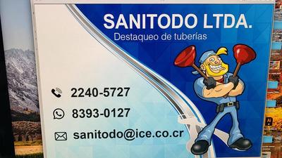 A Destaqueo Tuberías Limpieza Tanques Sépticos 8393-0127