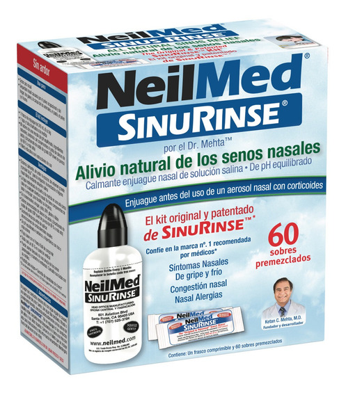 Lavador Nasal Sinus Rinse