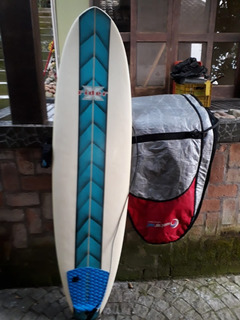 Prancha Surf Fun 6,8 Sergio Fernandes C/ Capa E Acessórios