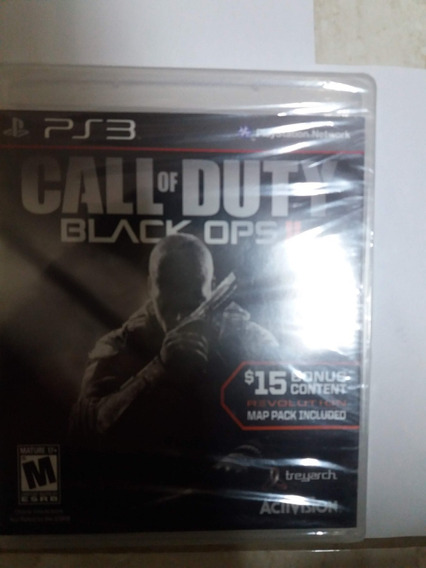 Jogo Call Of Duty: Black Ops Ii - Ps3/ Mídia Física