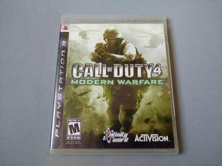 Call Of Duty 4 Modern Warfare Original Para Ps3