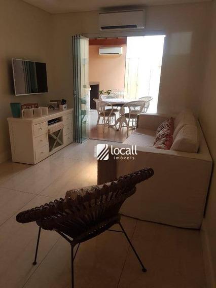 Casa Com 2 Dormitórios À Venda, 58 M² Por R$ 330.000 - Condomínio Residencial Parque Da Liberdade Ii - São José Do Rio Preto/sp - Ca1820