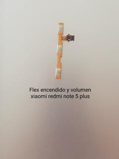 Flex Encendido Y Volumen Xiaomi Redmi Note 5 Plus, Nuevo Ori