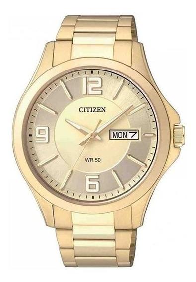 Relógio Citizen Masculino Dourado Tz20537g