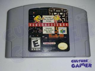 Namco Museum Para Tu N64 En Culture Gamer