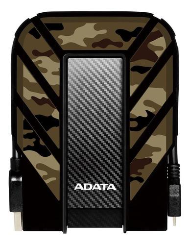 Imagen 1 de 3 de Disco duro externo Adata HD710M Pro AHD710MP-1TU31 1TB camuflaje