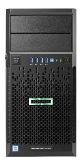 Servidor Hpe Ml30 Gen10 4lff Xeon E-2124 3.3 Ghz 16gb 1tb