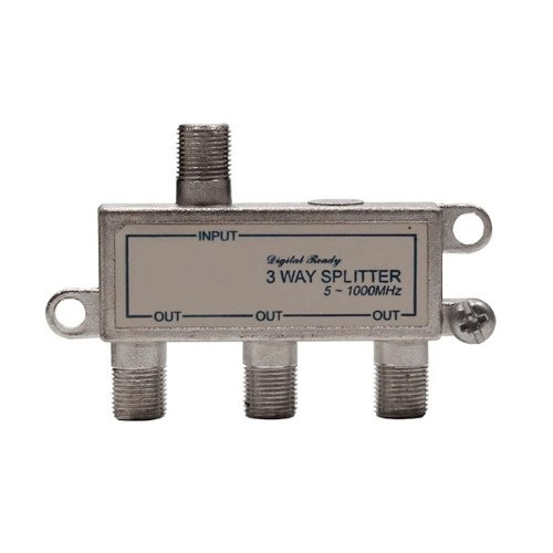 Divisor De Sinal 1:3 Catv 1 Ghz (25 Uni) Vr - Super Oferta
