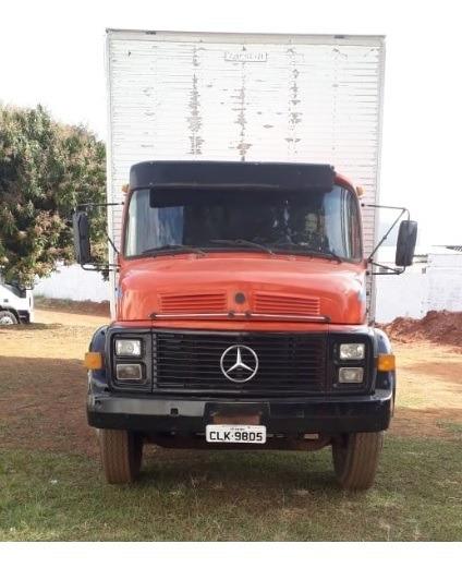 Caminhão Bau Mb 1113