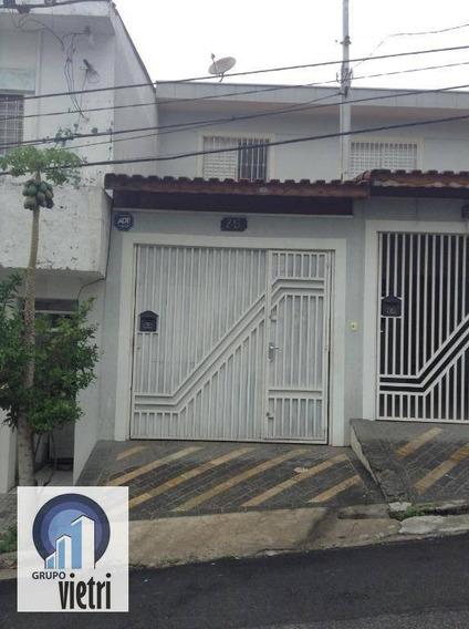Sobrado Com 2 Dormitórios À Venda, 90 M² Por R$ 330.000,00 - Vila Mirante - São Paulo/sp - So2099