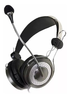 Auriculares Genius Hs-04su Headset Microfono Voip Zoom Chat
