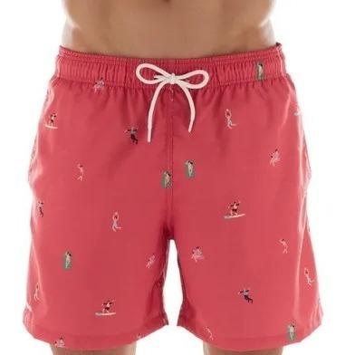 Shorts Beachwear Estampado Surfista Mash Ref: 61331