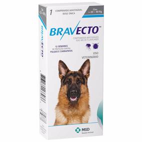 Bravecto Comprimido Para Cães De 20 A 40kg