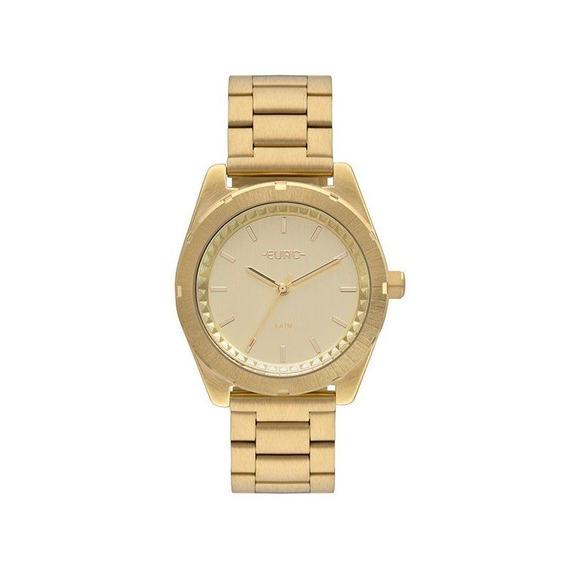 Relógio Euro Feminino Dourado Eu2036ynw/4d
