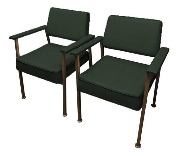 Par De Cadeiras De Escritório Industrial (antigas)