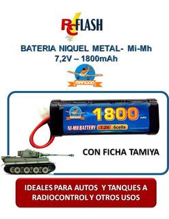 Batería Ni-mh Niquel Metal - Auto Tanque Rc Radiocontrol