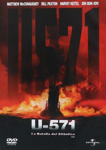 U-571 La Batalla Del Atlantico Jonathan Mostow Pelicula Dvd