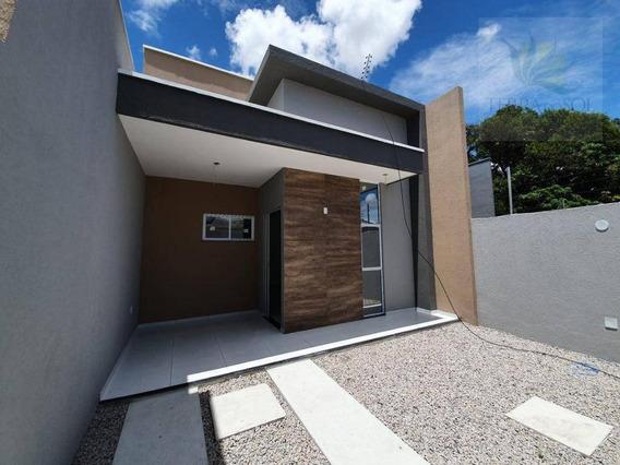 Casa Com 3 Dormitórios À Venda, 90 M² Por R$ 260.000 - Jangurussu - Fortaleza/ce - Ca0951