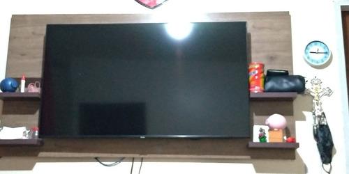 Smart Tv Samsung Tu8000 Com Cristal Danificado