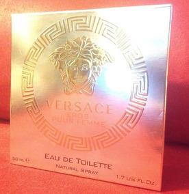 Perfume Versace Eros Pour Femme 50 Ml Usado Leia Anuncio