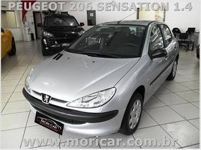 Peugeot 206 Sensation 1.4 - Ano 2008 - Leia As Observações