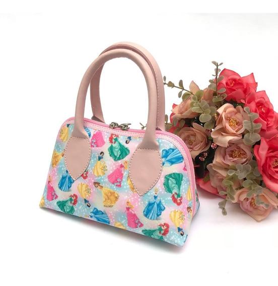 Bolsas Princesas Infantil Rosa Luxo Fashion