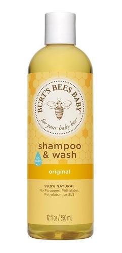 Imagen 1 de 4 de Shampoo Y Jabón Líquido Baby Bee 235 Ml, Burt's Bees