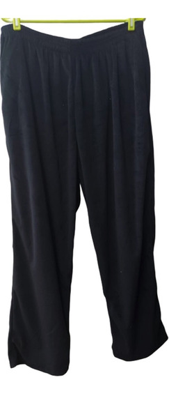 Pantalón De Plush, Liso, Talle Especial 60 Y 66