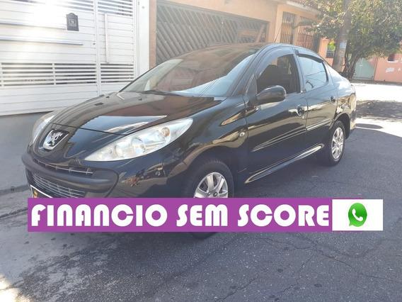 Peugeot 207 2011 Completo 1.4 Financiamento Com Score Baixo