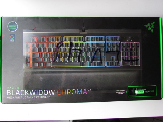 Teclado Gamer Razer Blackwidow Chroma V2 - Green Switch