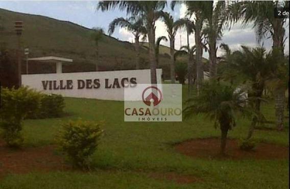 Terreno Residencial À Venda, Água Limpa Condomínio Ville De Lacs, Nova Lima. - Te0026