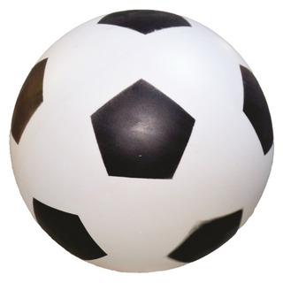 50 Bola De Vinil Dente De Leite Branco Com Preto De Futebol.