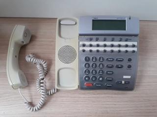 Telefone Nec Dterm Series Modelo Dtr-16d-1 (bk)