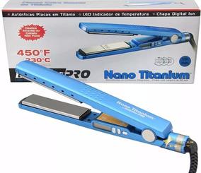 987801bab Prancha - Babyliss Nano Titanium #original# By Roger-450f