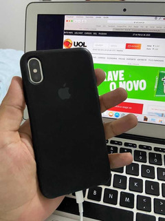 iPhone X 64gb Silver Fundo Trincado