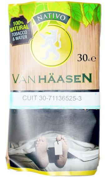 Tabaco Van Haasen Nativo Natural 30 Grs Origen: Argentina