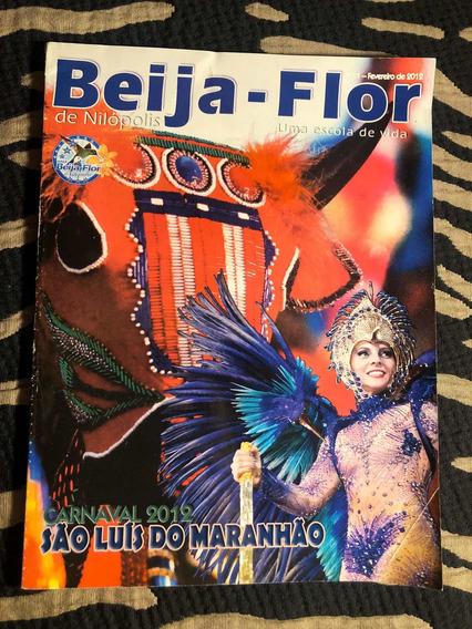 Revista Beija Flor Carnaval 2012 São Luiz Do Maranhão Zico