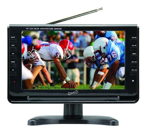 """TV portátil Supersonic SC-499 LCD HD 9"""""""
